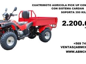 Cuatrimoto Agricola Todo Terreno Con Pick Up 2.200.000