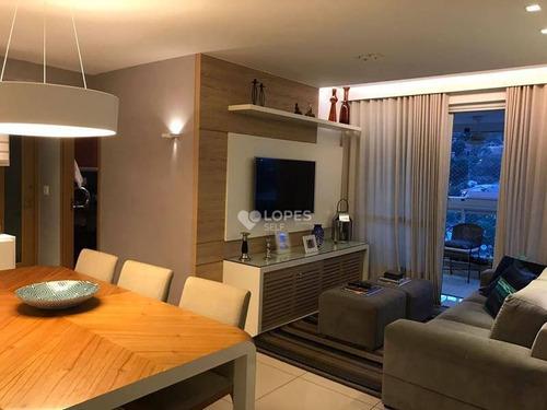 Apartamento Com 3 Dormitórios À Venda, 120 M² Por R$ 970.000,00 - Icaraí - Niterói/rj - Ap35943