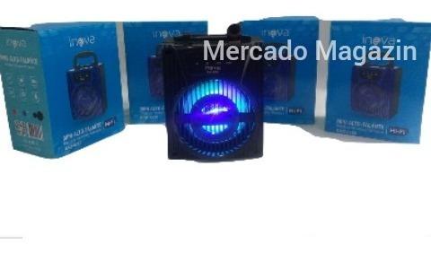 Caixa Som Portátil Usb,bluetooth Fm Mp3 Subwoofer Potencia