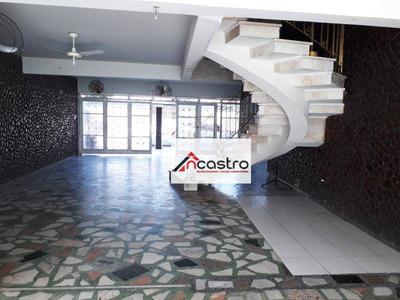 Casa Residencial Para Locação, Olaria, Rio De Janeiro. - Ca0066
