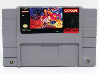 Super Nintendo Aladdin Completamente Original Impecable