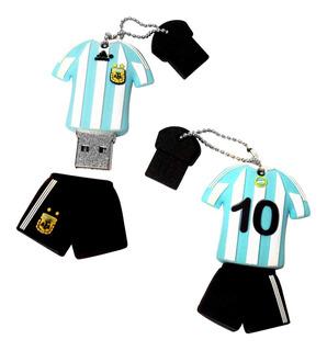 Pen Drive Argentina Mundial Camiseta 2gb