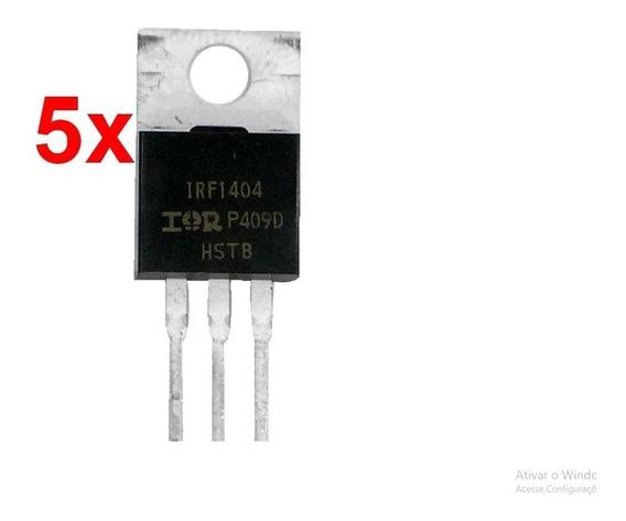 5pc Mosfet Irf1404pbf Transistor Irf1404 Original