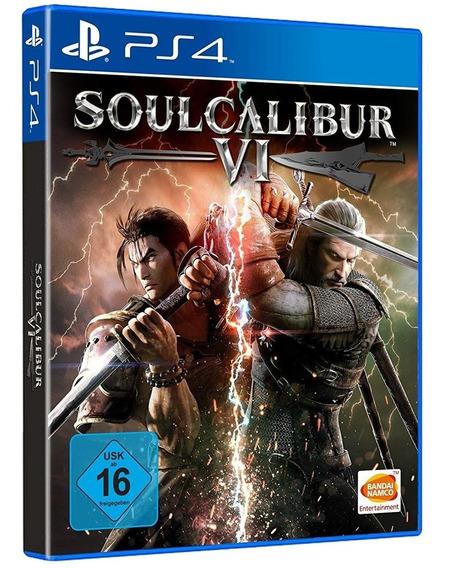 Soulcalibur 6 Vi Ps4 Midia Fisica Lacrado Original Promoção