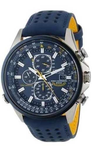 Relógio Citizen At8020-03l At8030 Angels Eco-drive Blue
