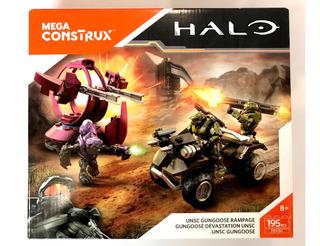 Halo Unsc Gungoose Rampage Mega Construx 195pz Fdy54