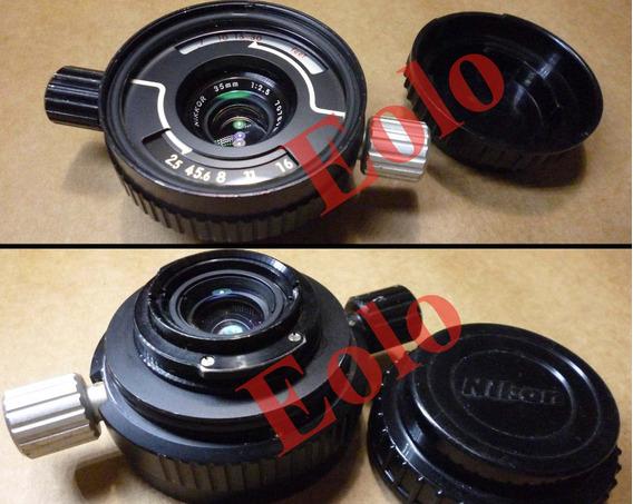 Nikonos Lente Nikkor 35mm 2,5 - Nikon Mergulho - Submarina &