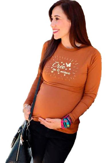 Blusa De Lactancia Y Embarazo Ropa Maternidad- Marijo