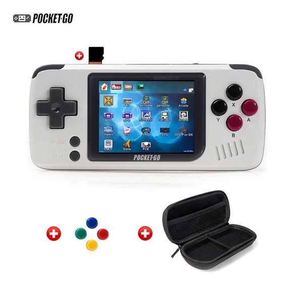 Pocketgo Video Game Retro Portátil 32gb + Case