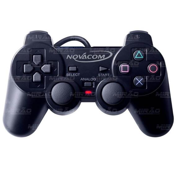 Controle Ps2 Joystick Analógico Novaco