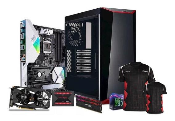 Computadora Pc Gamer Nvidia Geforce Gtx 1660 Ti Intel Core I5 Ssd 240gb Hdd 1tb Ram 16gb 80+