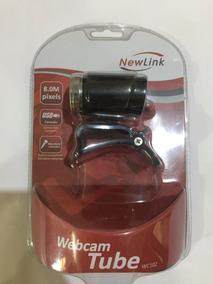Webcan Newlink Wc102 2.00/8.0mp Usb2.0 Microfone Nova