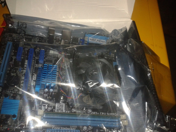 Placa Mãe Asus M5a78l-m Lx/br Com Processador Amd Fx Tm 6300