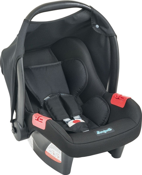 Cadeira Bebê Conforto Touring Evolution Se Preta Burigotto