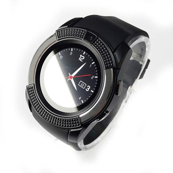 Reloj Celular V8 Redondo Smart Watch Solo Bluetooth No Sim