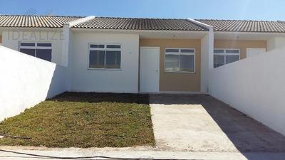 Casa Com 02 Quartos(dentro De Condomínio)- Roseira, São José Dos Pinhais. - Codigo: Ca0011 - Ca0011