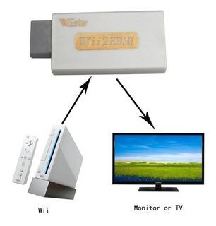 Adaptador Wii Hdmi + Jack 3.5 Wiistar Máxima Calidad 480p