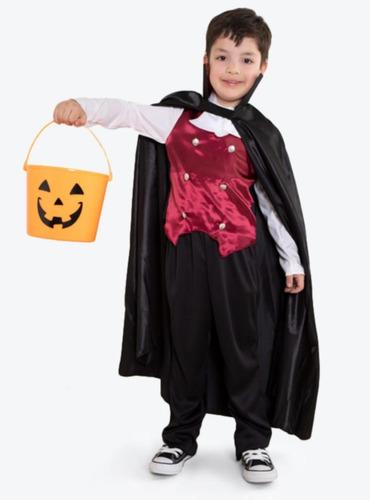 Disfraz Halloween Vampiro Dracula Talla 7-8