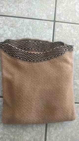 Poncho Plus Size G A Exg Blusa De Frio Feminina Trico