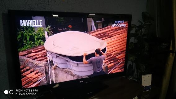 Tv Lg Led 47le5600 C/ Gravação Programada (hd 160gb)