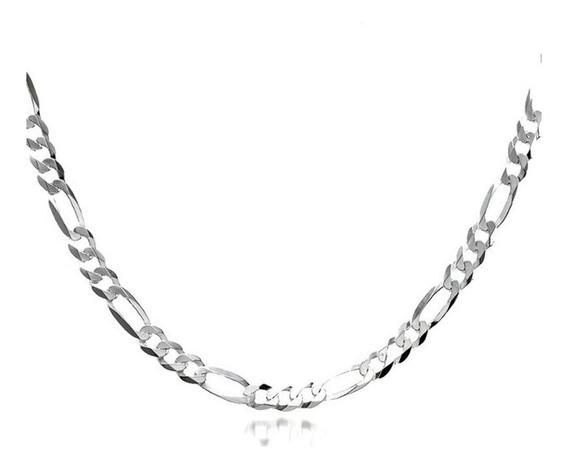 Cordão Masculino Prata 950 Elo 3 X 1