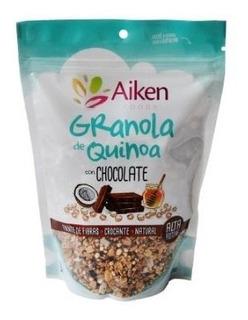 Granola De Quinoa Aiken Alta En Proteína Y Fibra 300 Gr