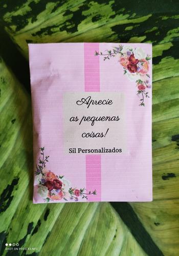 Imagem 1 de 5 de Lembrança/sachê Perfumado Personalizado 50 Unidades