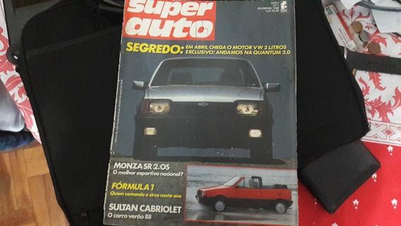 Revista Super Auto Da Monza S/r Ano 1 No 1