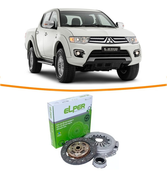 Kit Embreagem L200 Triton 2.4 Flex 2013 2014 2015 2016
