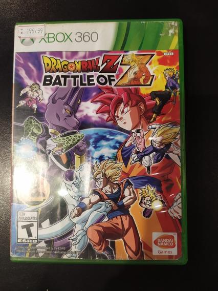 Jogo Xbox 360 Dragon Ball Z Battle Of Mídia Física Original Microsoft