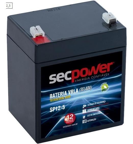 Bateria 12v 5ah Csb No Break Apc Sms Hr1221w Garantia Sp12-5