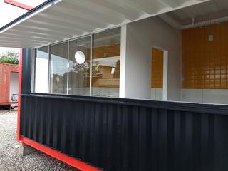 Lanchonete Container, Hamburgueria, Pastelaria, Food Truck