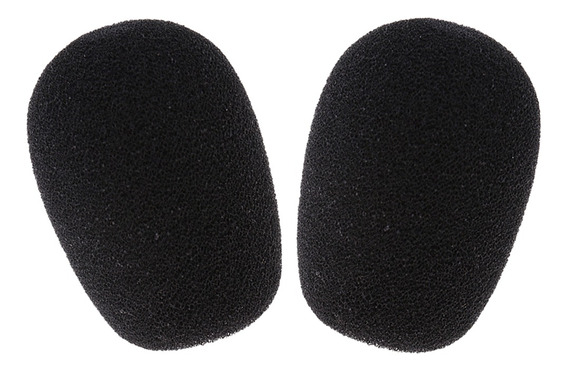 2 Pcs Espuma Microfone Windscreen Mic Capa Versão, Painel: 1