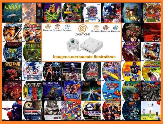 Patch Dreamcast Jogo Escolha 5 Jogos - Frete $10