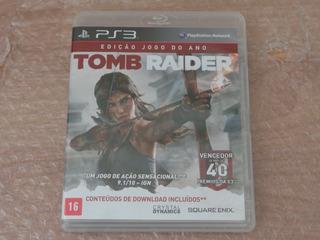 Tomb Raider - 2013 - Edição Definitiva - Ps3 - Frete R$ 17
