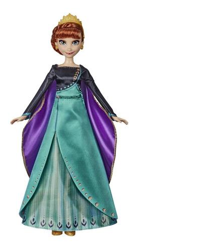 Frozen Muñeca Musical Cantante Anna Cuotas