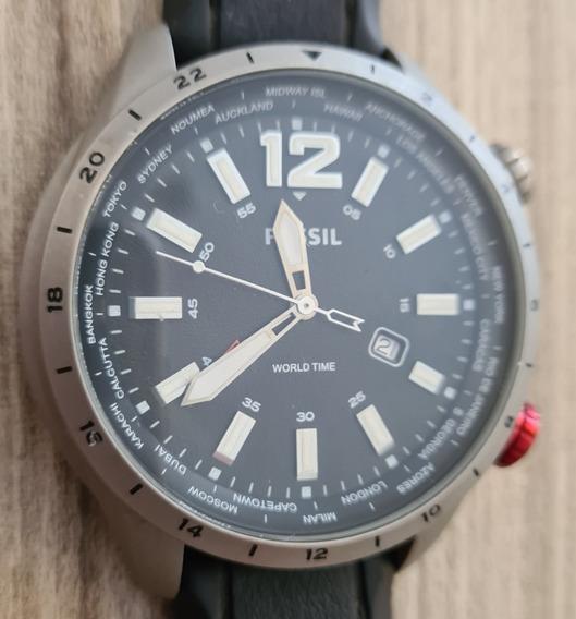 Relógio Fossil Multi Time Sport Watch Fch2741