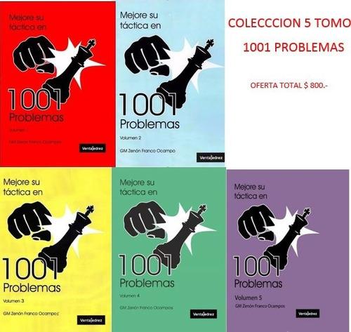 Mejore Su Tactica 1001 Problemas - 5 Libros Oferta Total