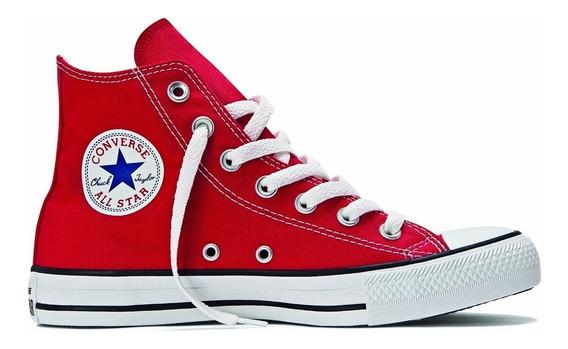 Tênis All Star Converse Ct As Core Hi Vermelho Bota Original