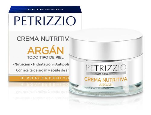 Imagen 1 de 1 de Crema Petrizzio Nutritiva Argan 50gr