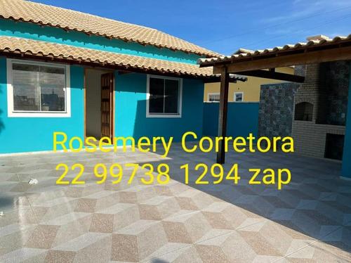 Imagem 1 de 10 de Lindo Modelo De Casa Unamar, Cabo Frio