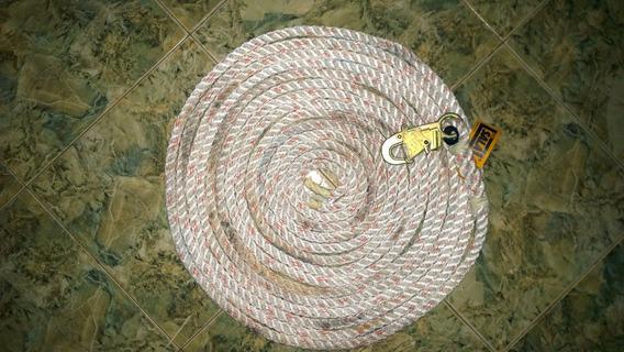 Cuerda De Rescate Marca Dbi 15metros.