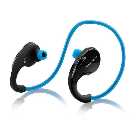 Fone De Ouvido Sport Bluetooth Azul Ph182 Multilaser