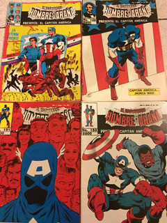 Cómics Hombre Araña Presenta Capitan America Vintage