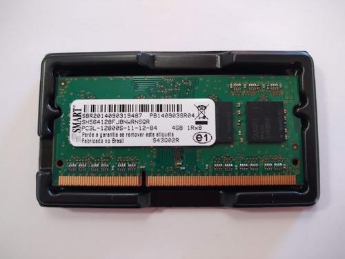 Imagem 1 de 1 de Memória Ram 4gb 1x4gb Pc3l Smart Sh564128fj8nwrnsqr