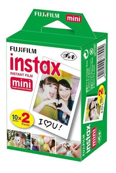 Filme Fujifilm Instax Mini 20 Fotos Fujifilm