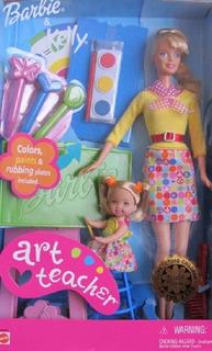Profesora De Arte Barbie & Kelly Doll I Can Be ... Serie