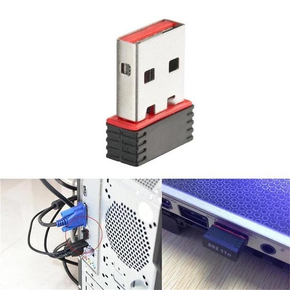 Adaptador De Rede Sem Fio Wi-fi 802.11n 150 Mbps