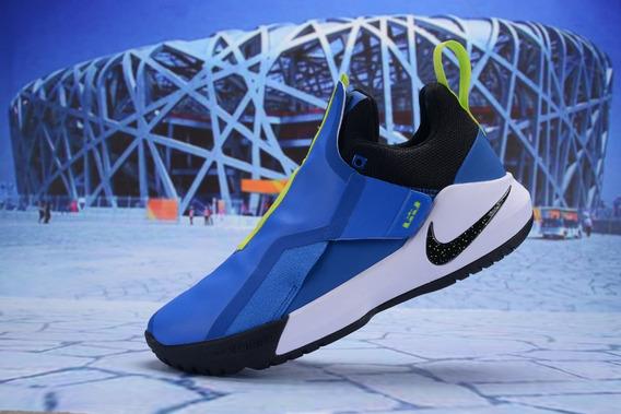 Nike Lebron Ambassador Lbj Azul 40/45 Imports Online Line