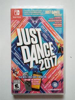 Just Dance 2017 Juego Nintendo Switch Nuevo Y Sellado